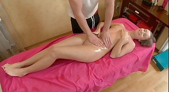 Young russian fucking with a masseur